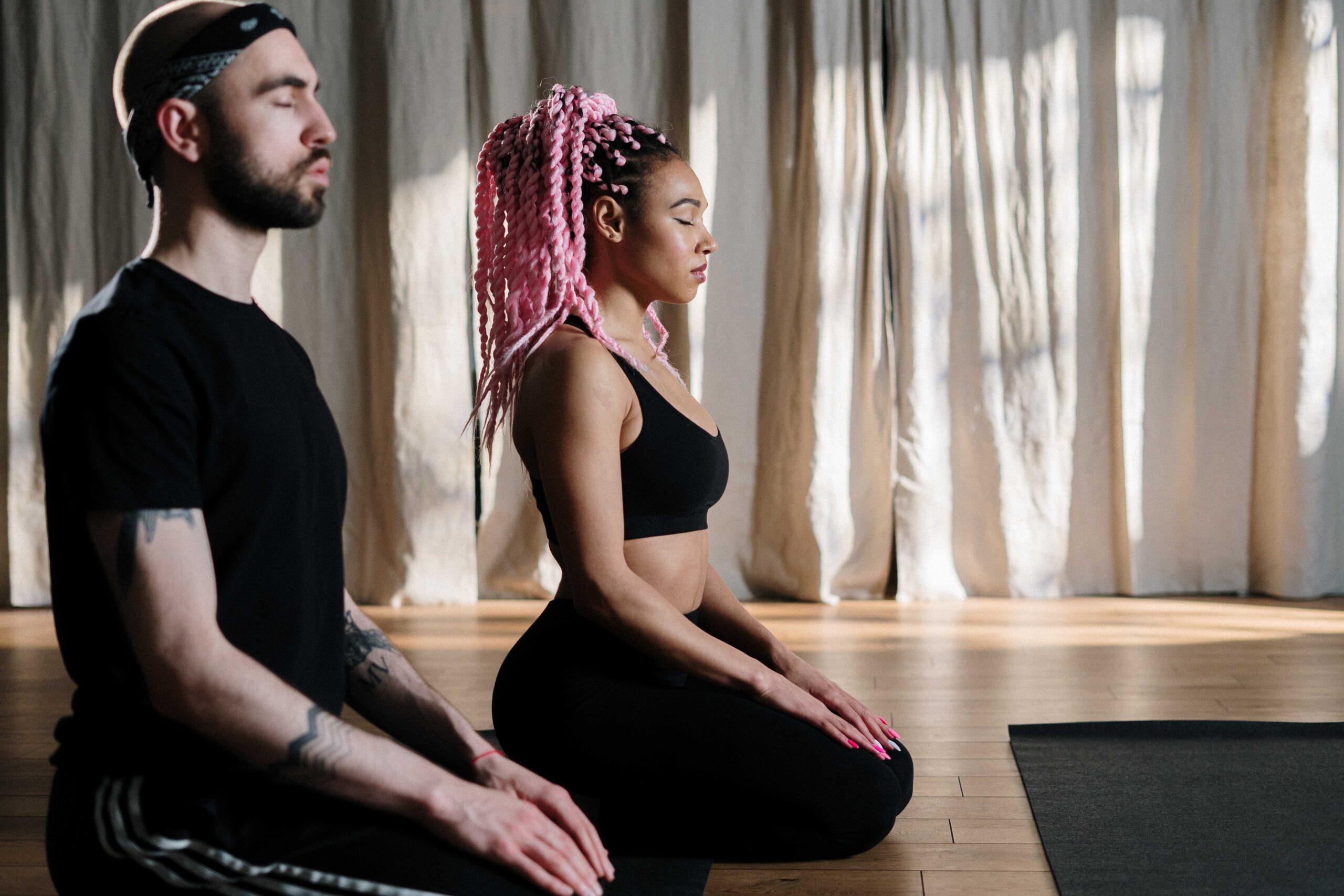 yoga kneeling